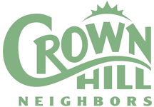 [Crown Hill Neighbors Logo]