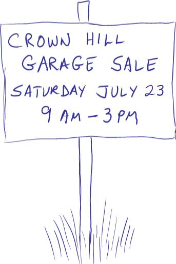 Garage Sale 2011