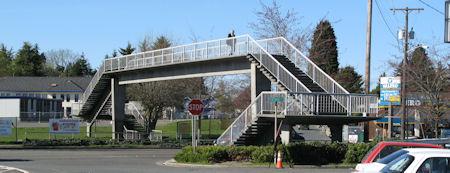 13th Ave Pedestrian Overpass over Holman Rd