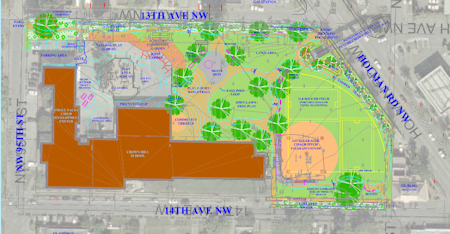 Crown Hill Park Schematic