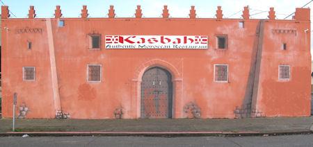 Kasbah mural