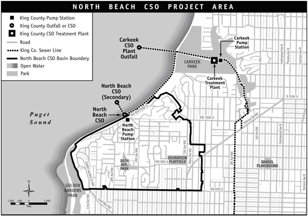 North Beach Crown Hill CSO Project Area