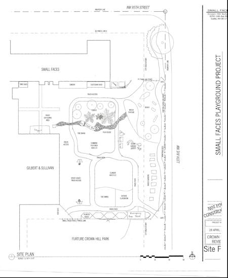 Proposed playground schematic
