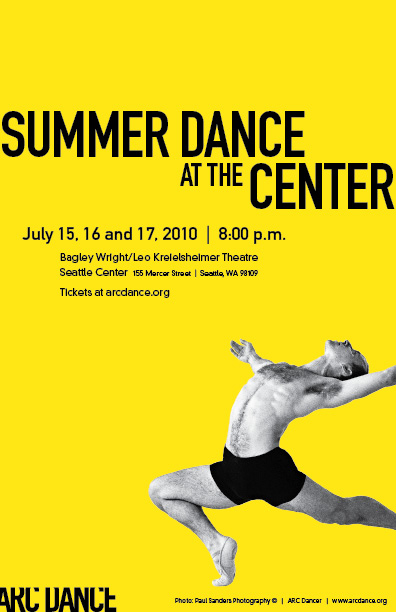Arc Poster Summer At The Center