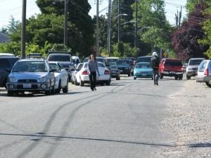 Traffic Slowed to a Crawl