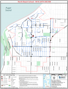 North Beach Elementary Walking Routes
