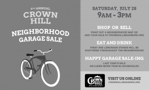 Garage Sale 2012